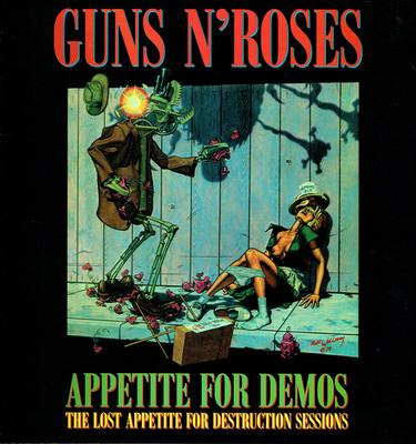 GUNS N ROSES - APPETITE FOR DEMOS (LP)