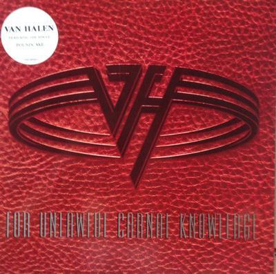 VAN HALEN - FOR UNLAWFUL CARNAL KNOWLEDGE Rare German 1991 original (LP)