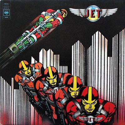 JET (UK GLAM) - S/T UK pressing, features members from John's Children (LP)