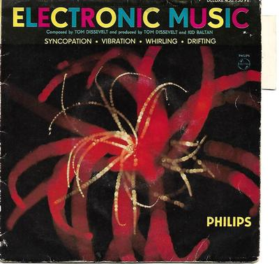"DISSEVELT, TOM - ELECTRONIC MUSIC Rare French EP from the early 60:s, old electronica (7"")"