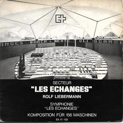 "LIEBERMANN, ROLF - LES ECHANGES Rare, early (1964) electronic/jazz (7"")"