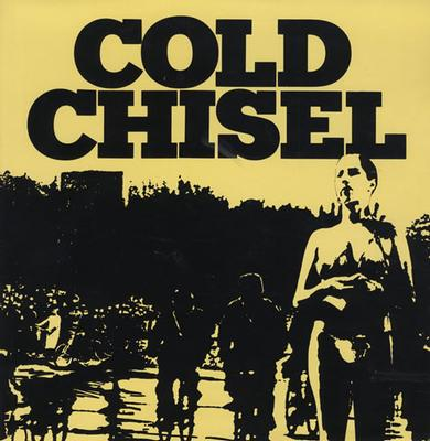 COLD CHISEL - S/T German Pressing On White Vinyl (LP)