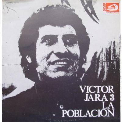 JARA, VICTOR - LA POBLACIÓN Italian Pressing With Lyrics Booklet (LP)