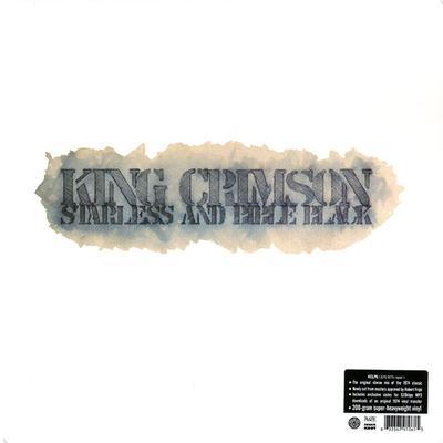 KING CRIMSON - STARLESS AND BIBLE BLACK 200g vinyl, (LP)