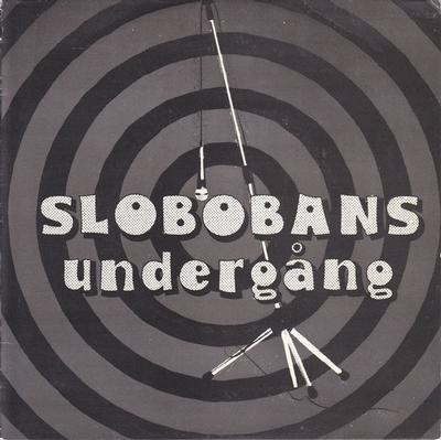 """SLOBOBANS UNDERGÅNG - MAKTGALEN EP Rare Debut (7"""")"""