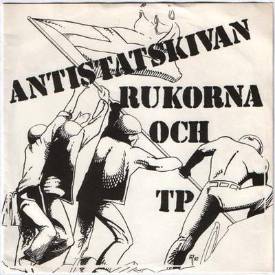 "RUKORNA / TP - ANTISTATSKIVAN Very Rare Punk Split (7"")"