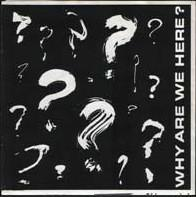 """WHY ARE WE HERE? - V/A Compilation with Bloodmobile, C.O.C, Stillborn Christians & No Labels (7"""")"""