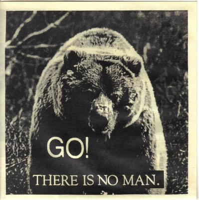 """GO! - THERE IS NO MAN (7"""")"""