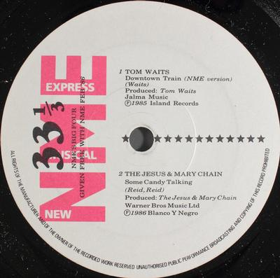 """NME'S BIG FOUR - V/A Given Away For Free With NME #2 '86 (7"""")"""