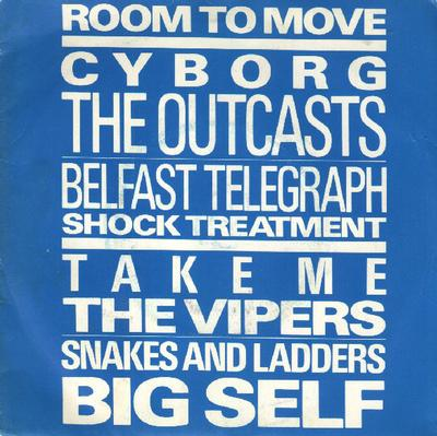 """ROOM TO MOVE - V/A New Wave Compilation (7"""")"""