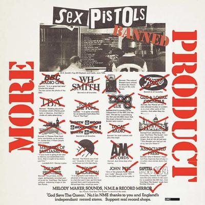 SEX PISTOLS - MORE PRODUCT 3xCD Box Set With Interviews (3CD)