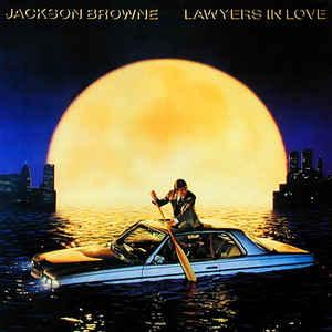 BROWNE, JACKSON - LAWYERS IN LOVE Scandinavian edition (LP)