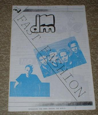 DEPECHE MODE - FAST FASHION # 1 Rare Swedish 1992 Fan Club magazine! (MAG)