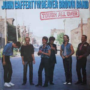 JOHN CAFFERTY AND THE BEAVER BROWN BAND - TOUCH ALL OVER Dutch (LP)