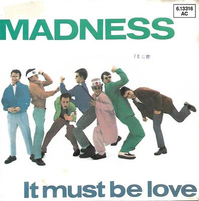 "MADNESS - IT MUST BE LOVE / SHADOW ON THE HOUSE Rare German promo ps! (7"")"