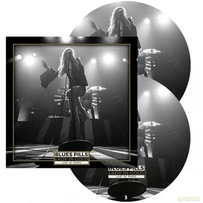 BLUES PILLS - LADY IN GOLD: LIVE IN PARIS picture disc! (2LP)