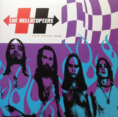 HELLACOPTERS, THE - PAYIN' THE DUES Original US Pressing With Gatefold Sleeve (2LP)