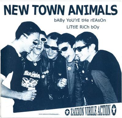 "NEW TOWN ANIMALS / DÉLATEURS - NEW TOWN ANIMALS / DÉLATEURS Red Vinyl (7"")"