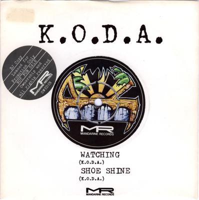 """KODA - WATCHING / Shoe Shine (7"""")"""
