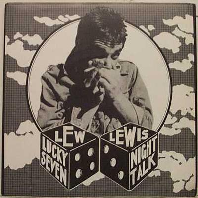 """LEW LEWIS - LUCKY SEVEN / Night Talk (7"""")"""