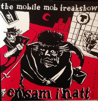 """MOBILE MOB FREAKSHOW, THE - ENSAM I NATT Red Vinyl (7"""")"""