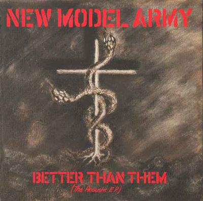 """NEW MODEL ARMY - BETTER THAN THEM (THE ACOUSTIC EP) Two Records In One (7"""")"""