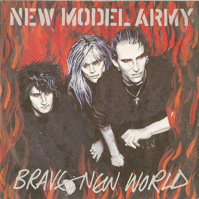 "NEW MODEL ARMY - BRAVE NEW WORLD / R.I.P (7"")"