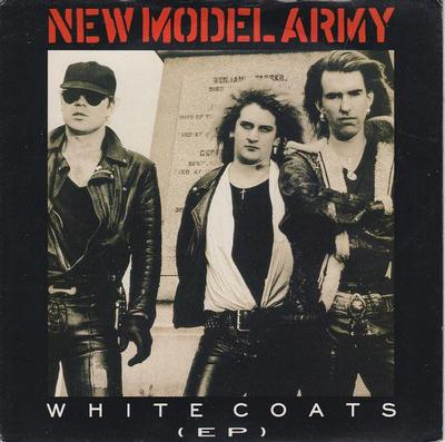 """NEW MODEL ARMY - WHITE COATS (EP) (7"""")"""
