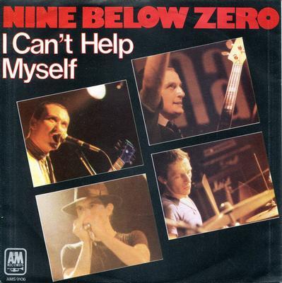 "NINE BELOW ZERO - I CAN'T HELP MYSELF / Swing Job (7"")"