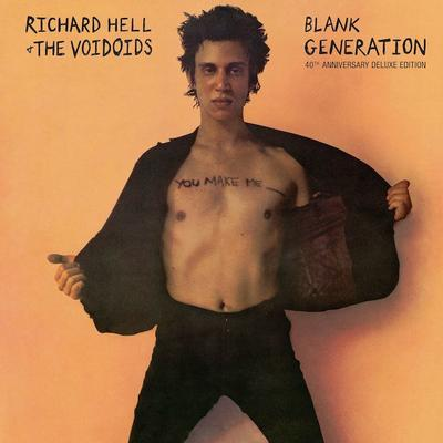 HELL, RICHARD AND THE VOIDOIDS - BLANK GENERATION 40th anniversary Ed. 2017 Black Friday release (2LP)