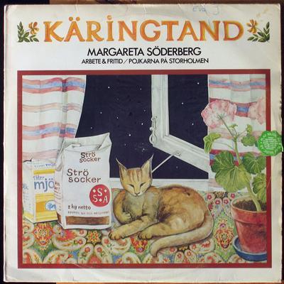 SÖDERBERG, MARGARETA - KÄRINGTAND Swedish Original Pressing With Booklet Insert (soc) (LP)