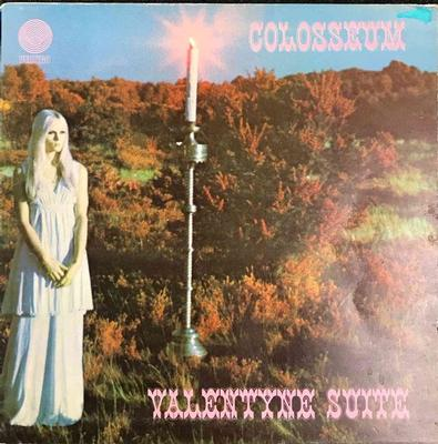 COLOSSEUM - VALENTINE SUITE UK 1970 early Pressing With Original Vertigo Innersleeve and Gatefold outer sleeve (LP)