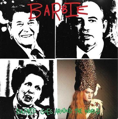 "BARBIE - BARBIE GOES AROUND THE WORLD / Barbie Goes Around The World (Instrumental Version) (7"")"