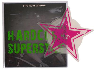 "HARDCORE SUPERSTAR - ONE MORE MINUTE / C'Mon Take On Me Shaped Picture Disc (7"")"