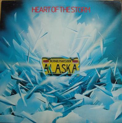 ALASKA - HEART OF THE STORM UK Pressing With Innersleeve & Insert (LP)