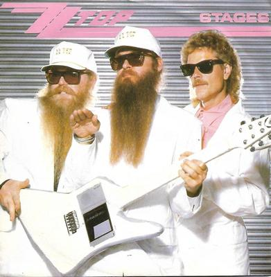 """ZZ TOP - STAGES / HI FI MAMA German ps (7"""")"""