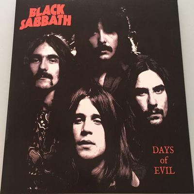 BLACK SABBATH - DAYS OF EVIL Blue Vinyl (LP)