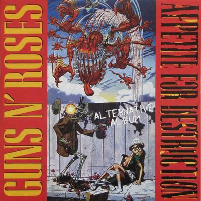 GUNS N ROSES - APPETITE FOR DESTRUCTION ALTERNATIVE ALBUM (LP)