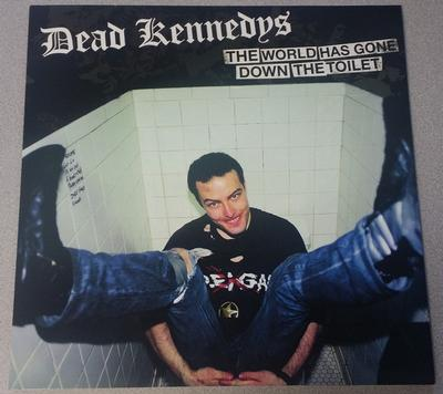 DEAD KENNEDYS - THE WORLD HAS GONE DOWN THE TOILET (LP)