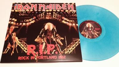 IRON MAIDEN - ROCK IN PORTLAND Turquoise Vinyl (LP)