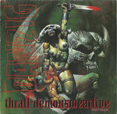 DANZIG - THRALL - DEMONSWEATLIVE Black Vinyl Reissue (LP)