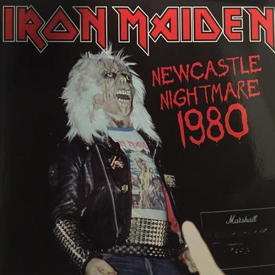 IRON MAIDEN - NEWCASTLE NIGHTMARE 1980 White Vinyl 150 copies only (2LP)