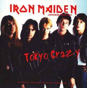 IRON MAIDEN - TOKYO CRAZY Grey Vinyl #19 of 42 copies only (2LP)