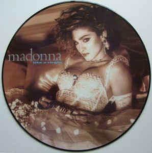 MADONNA - LIKE A VIRGIN Nice picture disc edition, re-issue (LP)