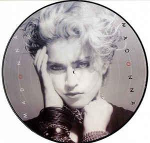 MADONNA - MADONNA Nice picture disc! (LP)