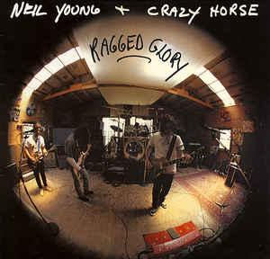 YOUNG, NEIL & CRAZY HORSE - RAGGED GLORY Rare German pressing! (LP)
