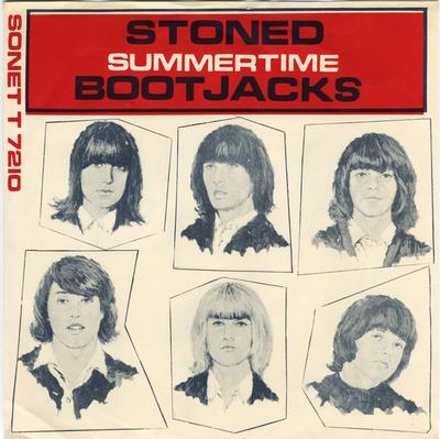 "BOOTJACKS - STONED / Summertime Rare Swedish 60´s RnB Freakbeat (7"")"