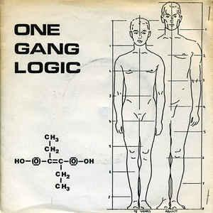 "ONE GANG LOGIC - ALIENATE EP Numbered Edition of 1000. Foldout hand made sleeve (7"")"