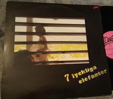 DAG VAG - 7 LYCKLIGA ELEFANTER (LP)