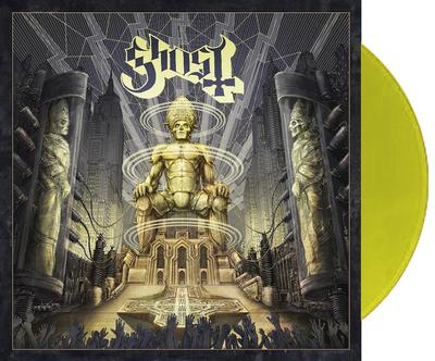 GHOST - CEREMONY AND DEVOTION Sweden only transparent yellow vinyl. Limited edition of 3000 copies (2LP)